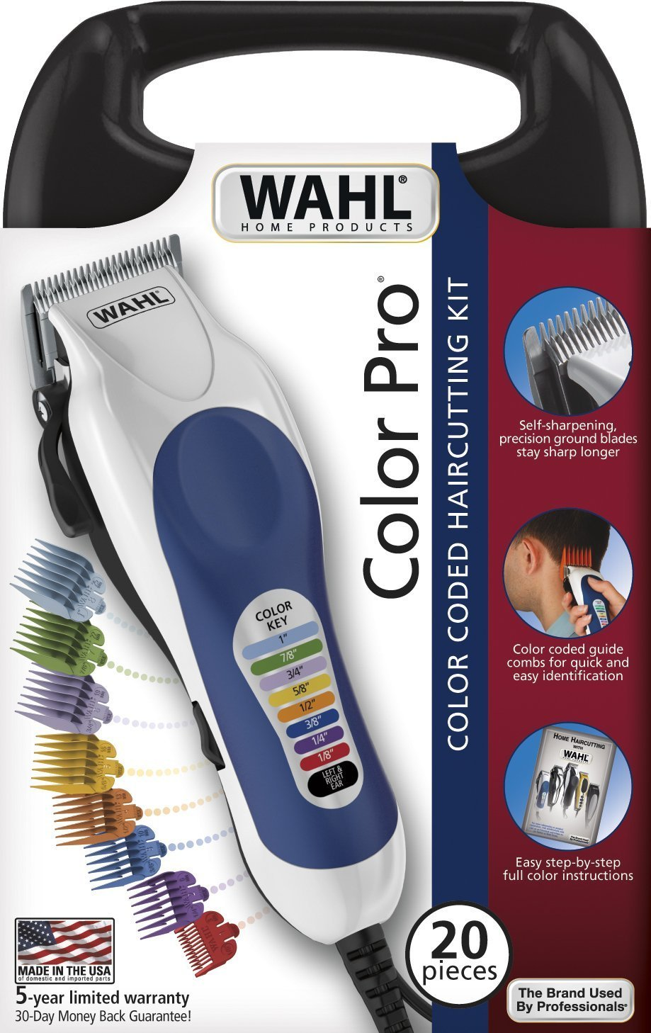 Wahl 79300-400 Color Pro Haircut Kit