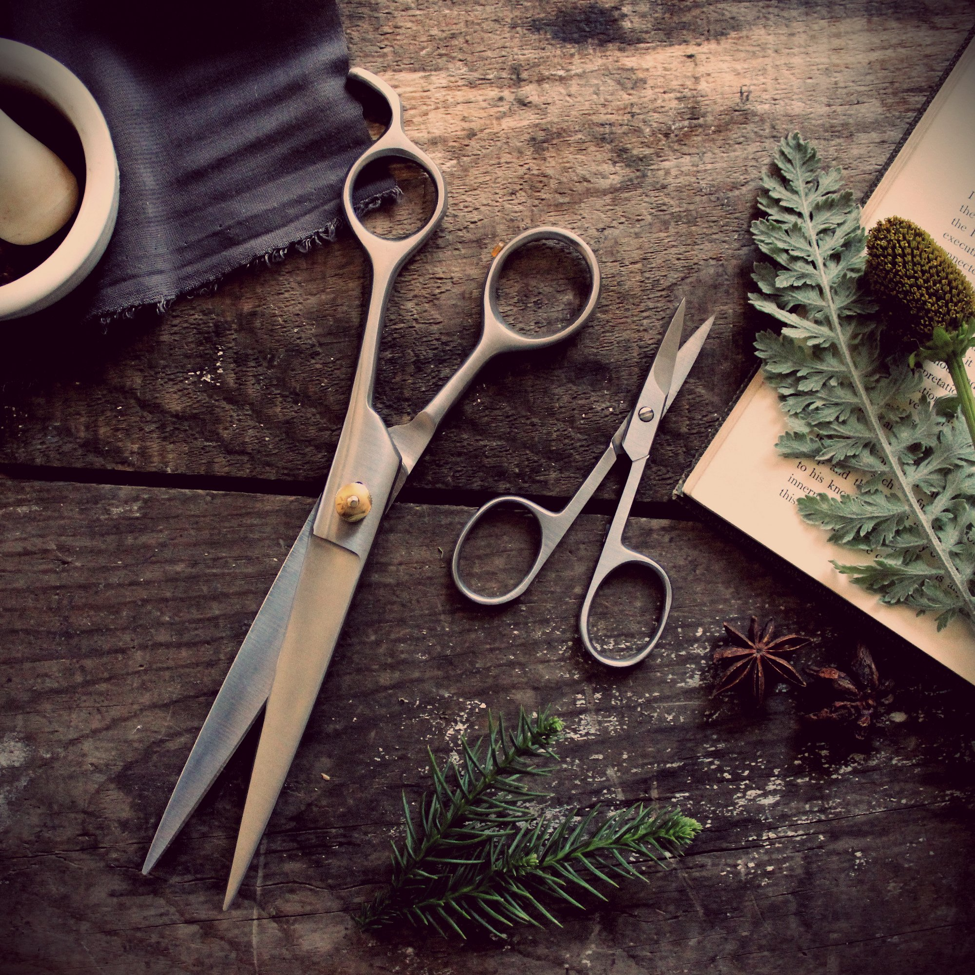 Hair Stylist Shears Wallpaper